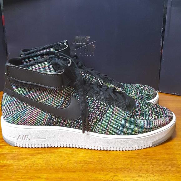 ffa386578 Nike Shoes | Air Force 1 Mid Ultra Flyknit Pink Blast Af1 | Poshmark